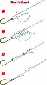 Uni Knot instructions